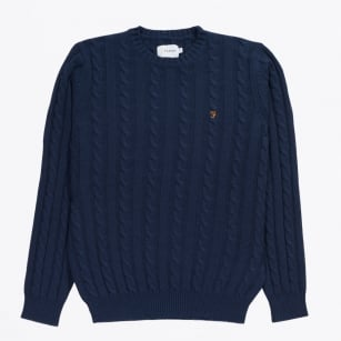 | The Norfolk Cable Crew Jumper - Yale
