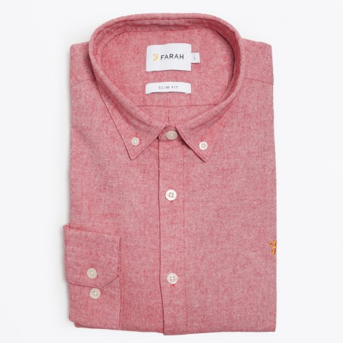 Farah Vintage - The Steen Shirt - Red