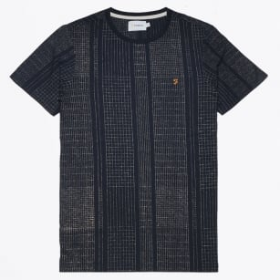 | Tommy Printed Tee - Navy