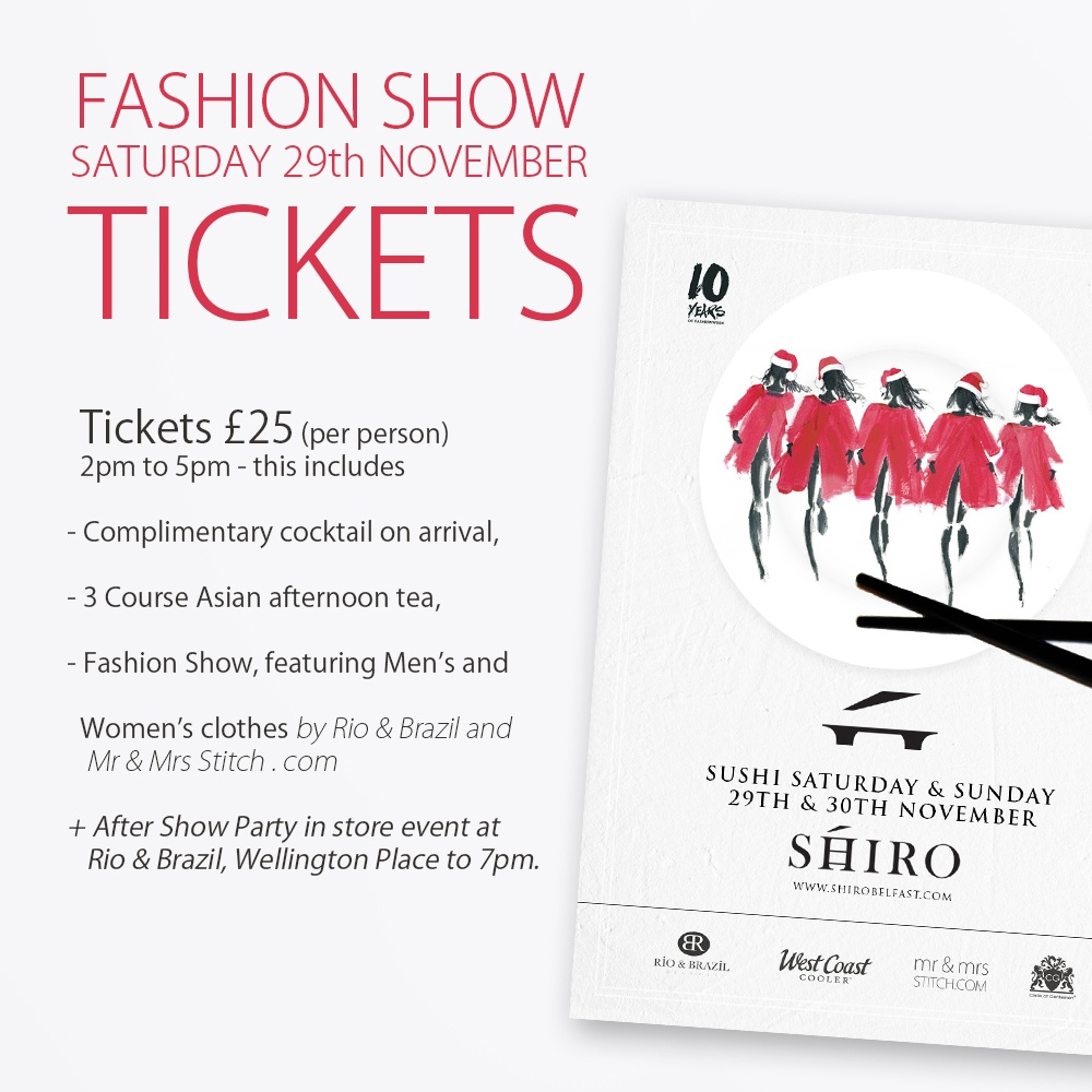 Tickets for fashion shows fashion show ticket by for Fashion show ticket template