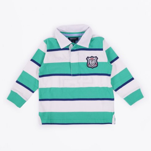 Gant - 3 Colour Stripe Heavy Polo