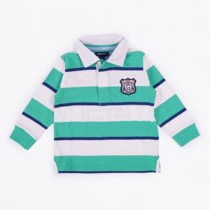- 3 Colour Stripe Heavy Polo
