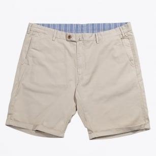 | Broken Twill Shorts | Regular Fit - Sand