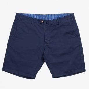| Broken Twill Shorts | Regular Fit - Shadow Blue