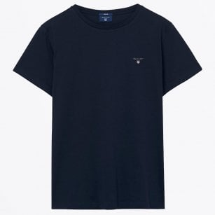 - Classic Crew Neck T-shirt - Navy