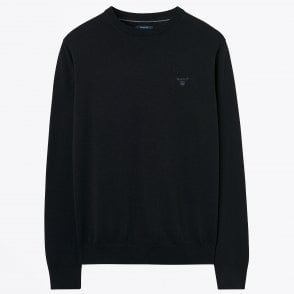 - Cotton Crew Neck Sweatshirt - Charcoal