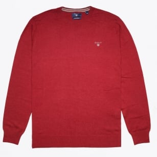 - Cotton Wool Crew - Bordeaux Melange