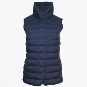 - Lightweight Down Vest - Marine