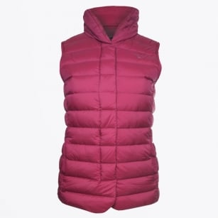 - Lightweight Down Vest - Raspberry Purple
