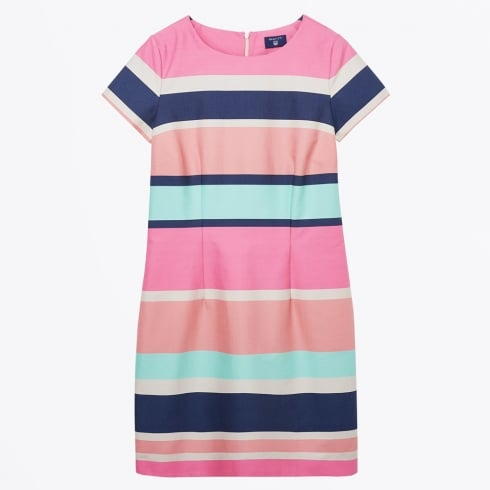 Gant - Pastel Shift Dress - Magenta
