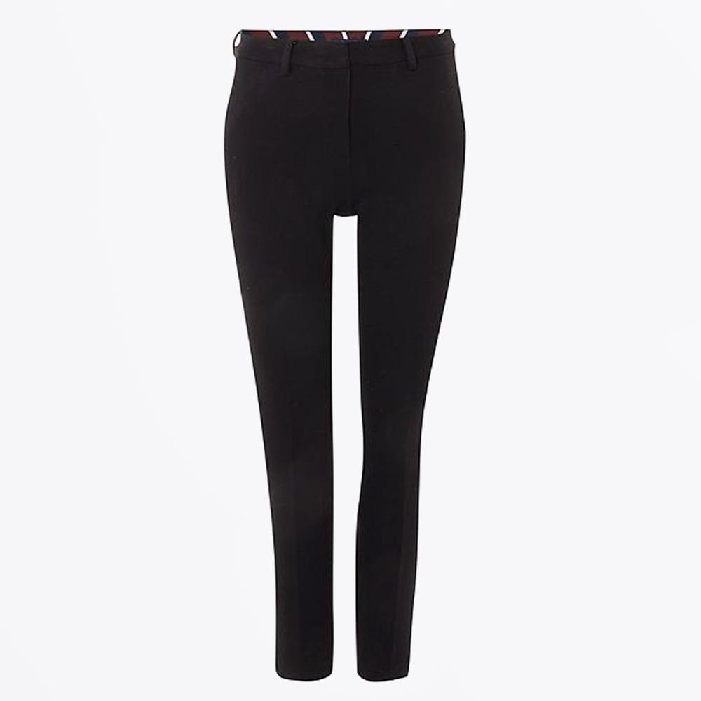e5d81e572f Pique Jersey Trousers - Black | Womens Trousers | Womens Pants | Gant
