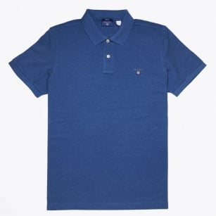 | Polo Shirt - Ocean Blue