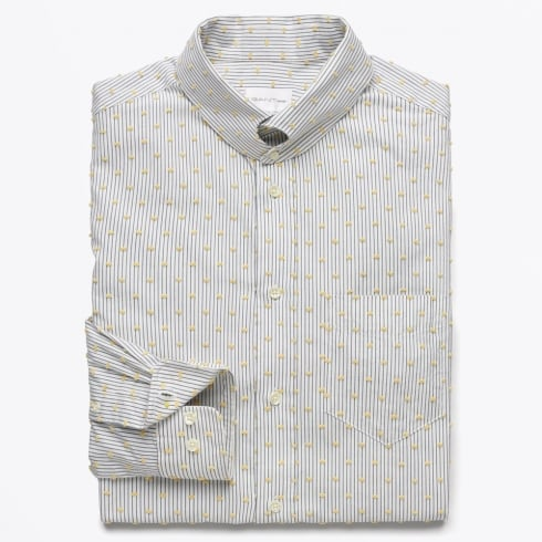 Gant Rugger - Dreamy Oxford 60's Collar Shirt - Daisy Yellow