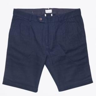| Linen Shorts - Navy