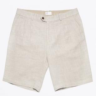 | Linen Shorts - Sand
