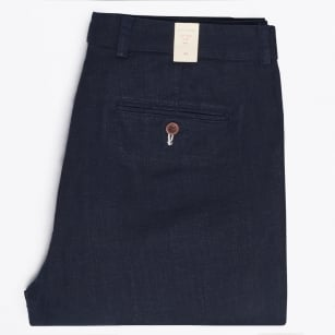 | Linen slacks - Navy