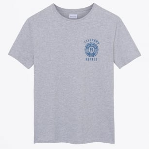- Literary Rebels Print T-Shirt - Grey Melange