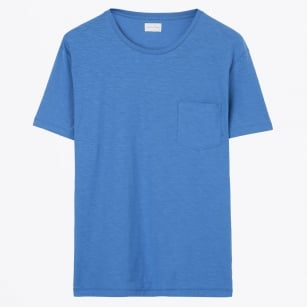 - The Organic Loose Tee - Blue Ocean