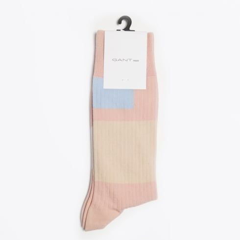 Gant Rugger - The Rib Sock Patch - Nantucket