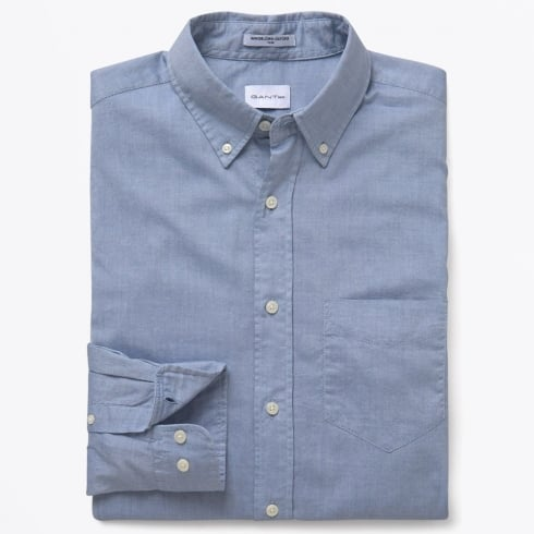 Gant Rugger - Windblown Button Down Collar Shirt - Salty Sea