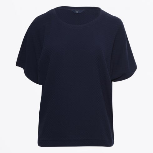 Gant - Square Pattern Top - Evening Blue