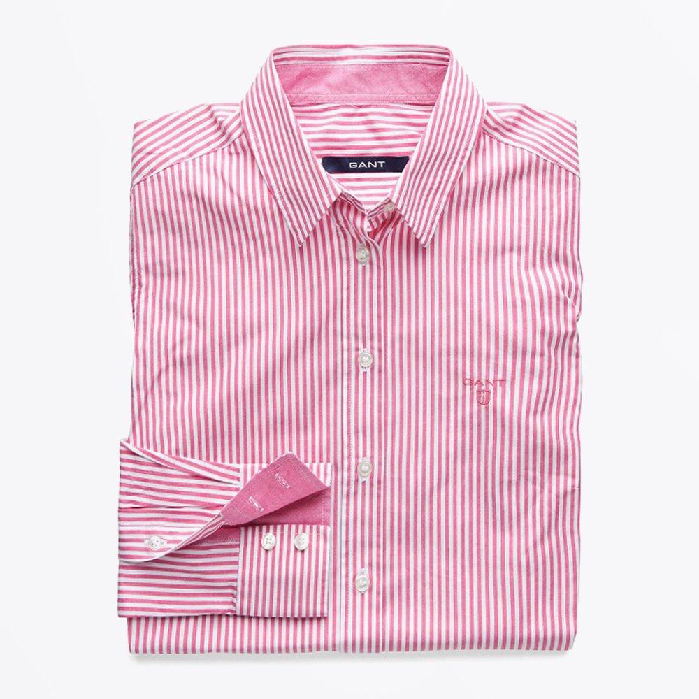 Stripe Pocket Front - Pink   Women's Shirts   Blouses For Women   GANT