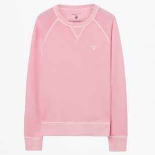 | Sunbleached Crew Neck Sweater - Pink