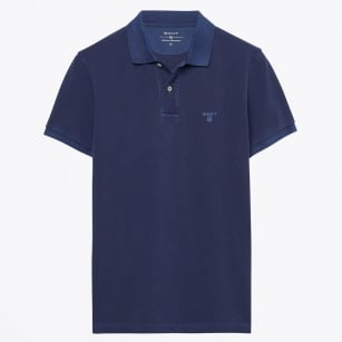 | Sunbleached Polo Shirt - Persian Blue