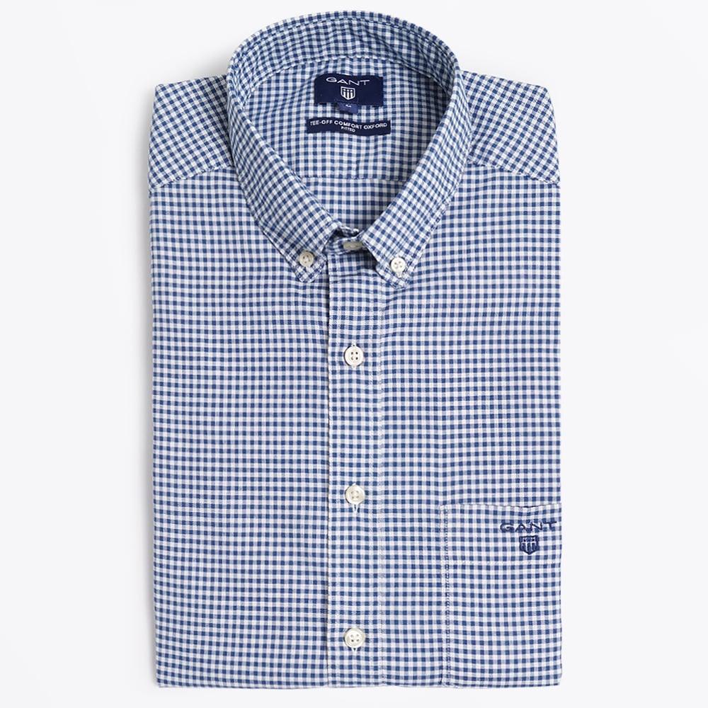 f01c8066c8 Tee Off Comfort Shirt - Capri Blue | Casual Shirts For Men | GANT