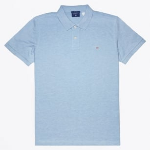 | The Original Pique Polo - Frost Blue