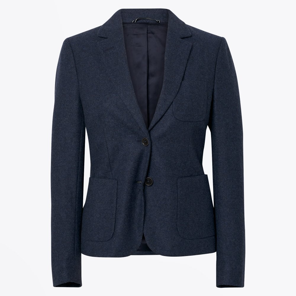 f49c8aae19 Gant - Wool Twill Blazer - Navy - Mr & Mrs Stitch