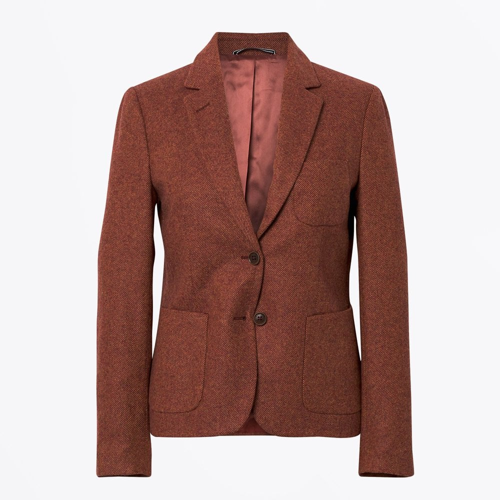 d3dba0d92d Gant - Wool Twill Blazer - Rust - Mr & Mrs Stitch