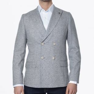 | Donegal Double Breasted Blazer - Grey