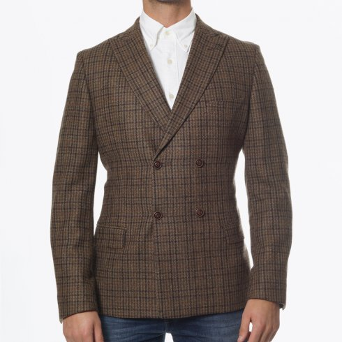 Gibson - Double Breasted Blazer - Sage Green