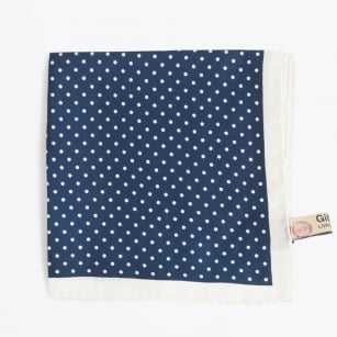 - Silk Handkerchief - Navy
