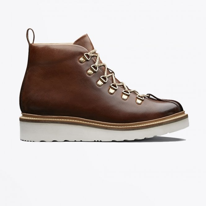 Grenson - Bobby - Leather Hand-painted Boot - Tan