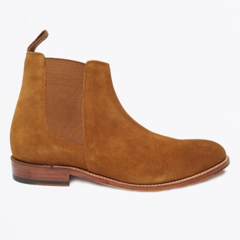 Grenson - Declan Suede Chelsea Boots - Snuff
