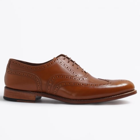 Grenson - Dylan Rub Off Brogue - Amber
