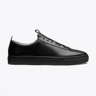 - Leather Sneakers - Black