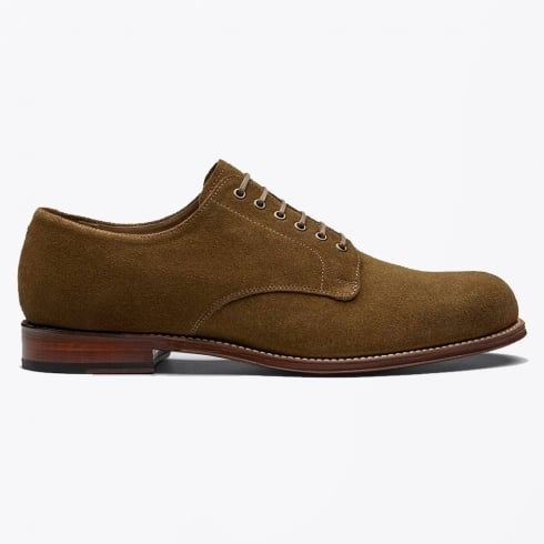 Grenson - Leo Suede Brogues - Snuff