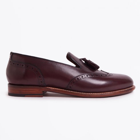 Grenson - Monty Leather Loafer - Burgundy