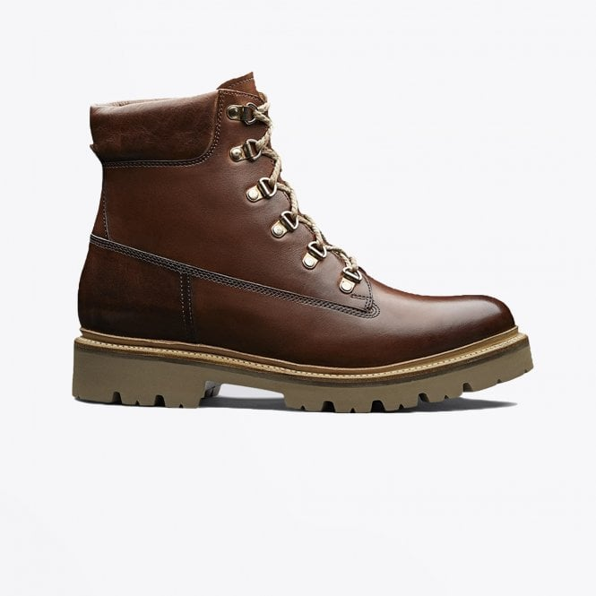 Grenson - Rutherford - Leather Hiker Boot - Tan