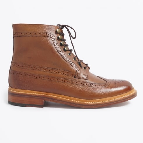 Grenson - Sebastian Alpine Grain Boot - Tan