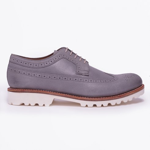 Grenson - Sid Roughout Suede - Grey