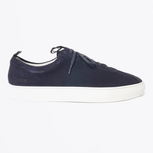 Grenson - Sneaker 1 Suede Shoes - Oxford Navy