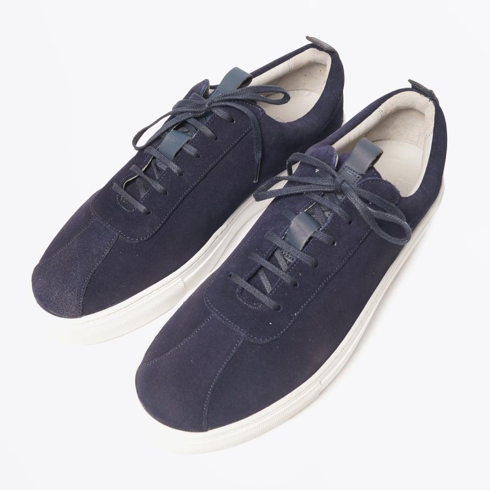 Suede Shoes - Oxford Navy | Mr \u0026 Mrs Stitch