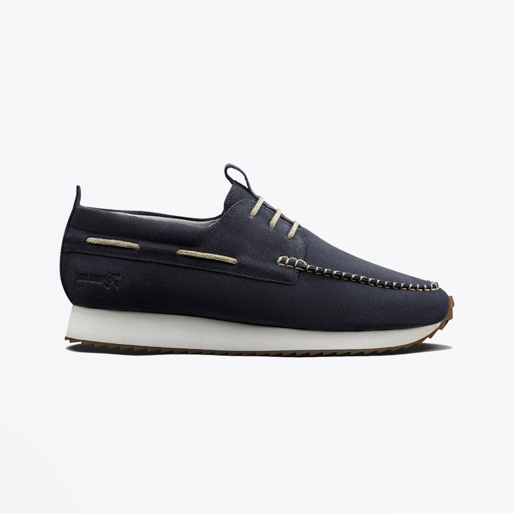 Grenson - Sneaker 15 - Suede Boat Shoe