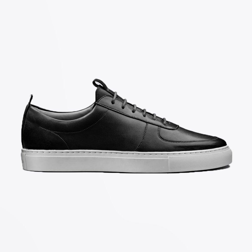 finest selection 1fe13 5327f Grenson - Sneaker 22 - Leather Sneakers - Black