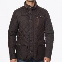 - Kent Quilted Jacket - Brown