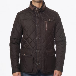 | Kent Quilted Jacket - Brown